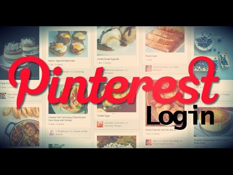 HOW TO LOGIN PINTEREST ACCOUNT