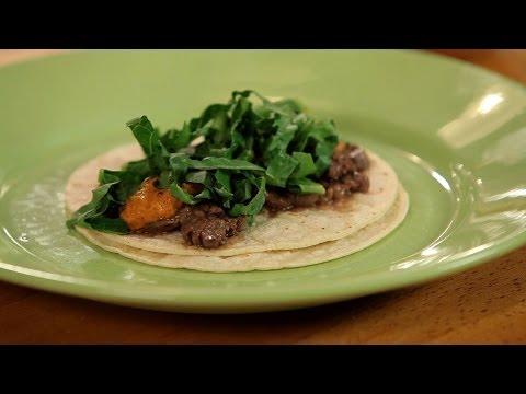 How to Make Steak Tacos w/ Peanut Salsa | Tacos