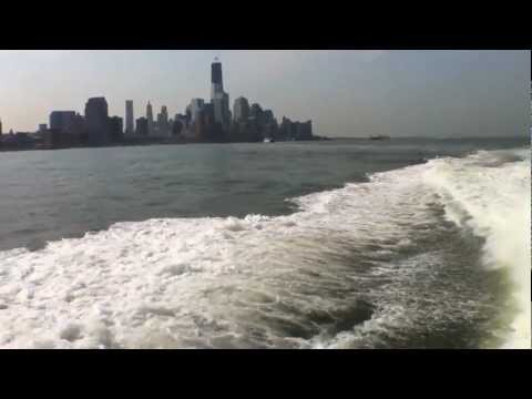 Hauling ass on the NY Waterway from Paulus hook to midtown Jersey City to NYC