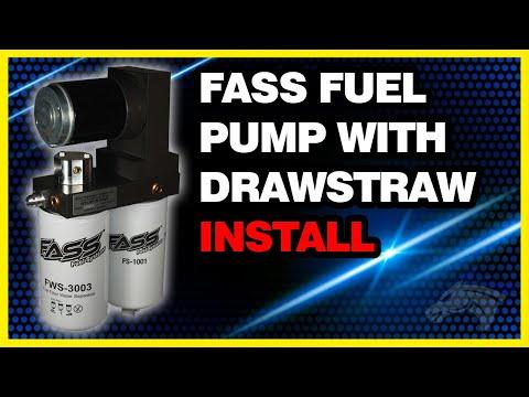 FASS Fuel Pump System w/ Drawstraw Install: 2002 Dodge Cummins