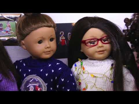 The Ugly Christmas Sweater Contest- American Girl Doll Stopmotion