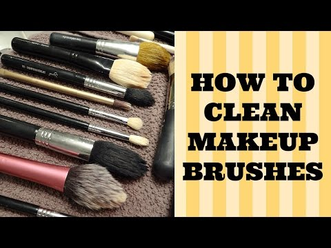How to Clean Makeup Brushes with the Beauty Blender Solid Cleanser
