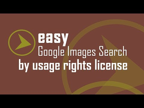Quicker Google Images Search by Usage Rights License