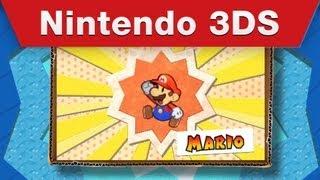 Nintendo 3DS - Paper Mario: Sticker Star E3 Trailer