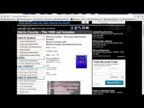 Harris County Jail Inmates - Harris County Jail