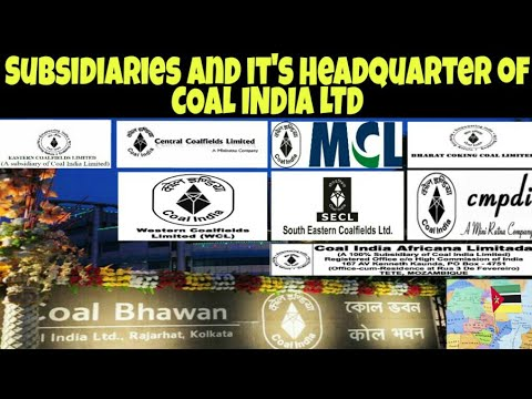 Subsidiaries Of Coal India Limited