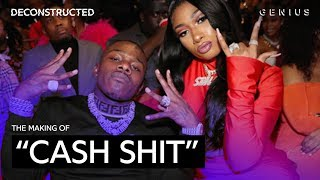 "The Making Of Megan Thee Stallion & DaBaby's ""Cash Shit"" With LilJuMadeDaBeat 