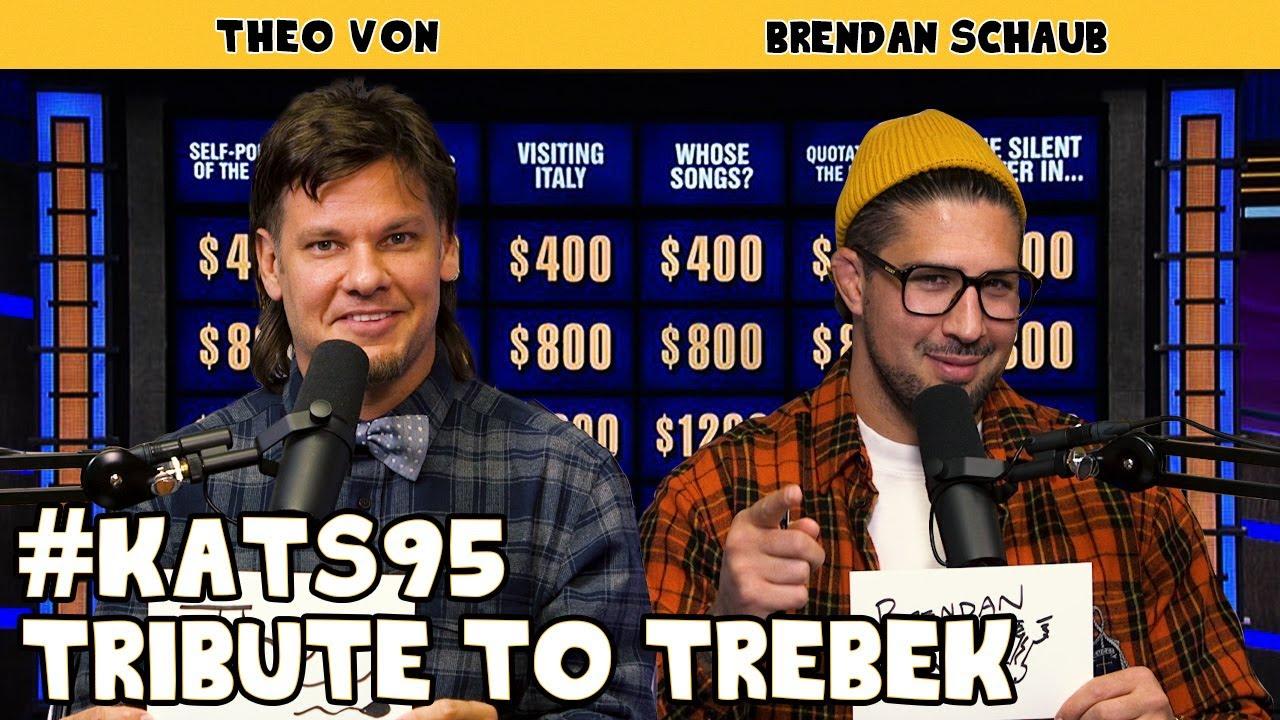 Tribute to Trebek | King and the Sting w/ Theo Von & Brendan Schaub #95
