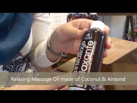 Organic Body Massage Oils