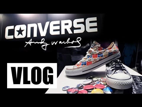 VLOG! #ConverseWarhol Limited Edition Sneakers