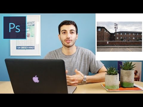 Photoshop CC Tutorial: How to add a Border to a Photo &  Make it Square for Instagram
