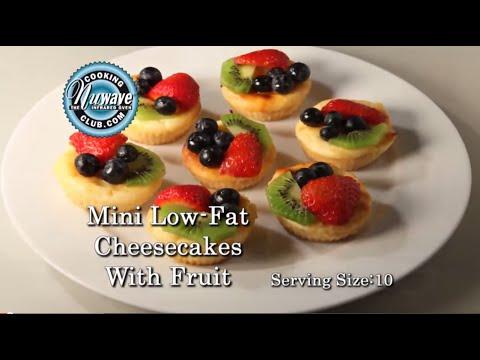 Low-Fat Mini Cheesecake