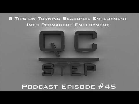 5 Tips For Turning a Temporary Seasonal Job Into a Permanent Job
