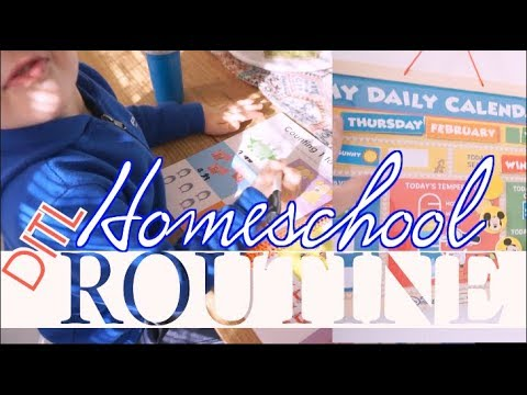Day in the Life of a Homeschool Mom | Realistic Homeschool Routine | steffiethischapter