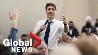 Trudeau defends immigrants after man claims Islam, Christianity