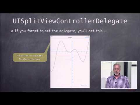 Stanford University Developing iOS 7 Apps: Lecture 11 - Table View and iPad
