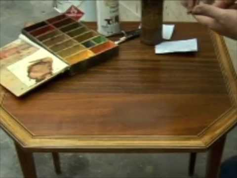 Spot Touch-Up of Veneer Sand through