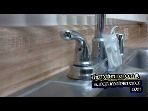 How To Tighten Down A Loose Faucet Handle