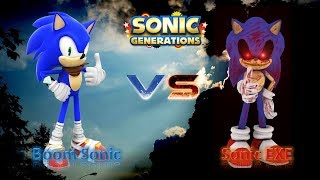 Sonic Generations Mod Part 149_ (JUSTICE VS EVIL) Hyper Shadic VS