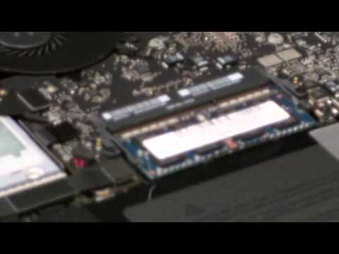 How To Upgrade Or Install Memory In Apple Macbook Pro