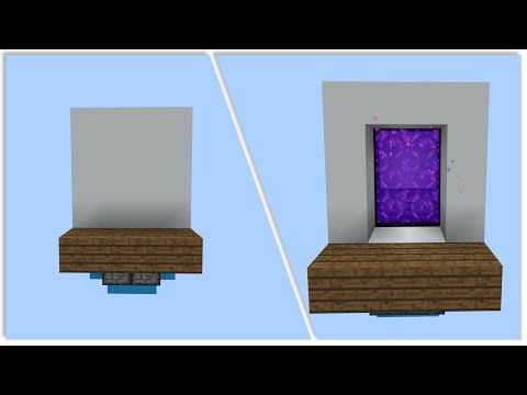 Minecraft Hidden Nether Portal (PE/Xbox/Windows10/Switch)