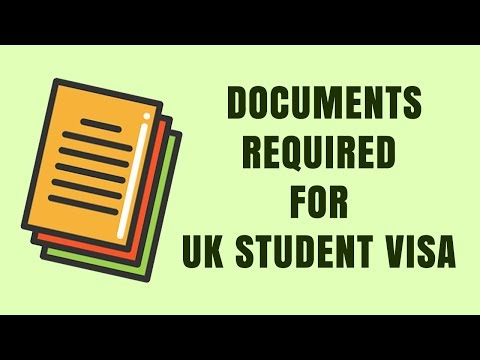 Checklist for UK Tier 4 Student Visa application