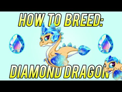 How to Breed - Diamond Dragon DragonVale! BEST 2nd try