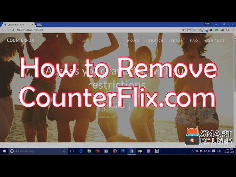 How to Remove Counterflix.com from All Browsers