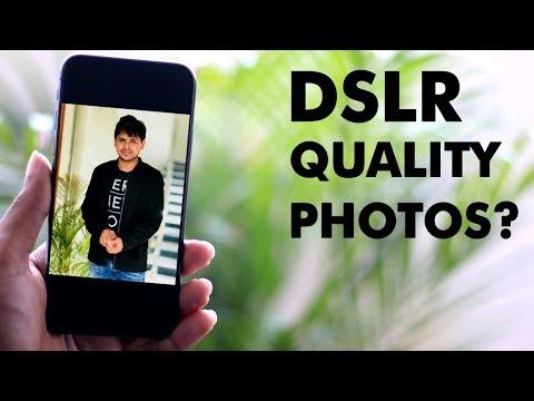 Best DSLR Like Camera App for iPhone