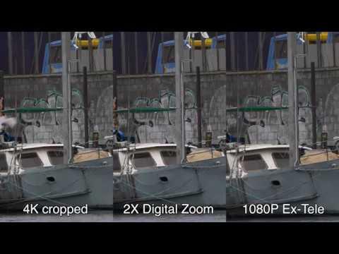 Panasonic G80 / G85 - Digital Zoom vs 4K Crop vs Ex-Tele