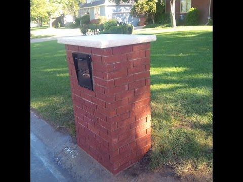Brick Mailbox Build