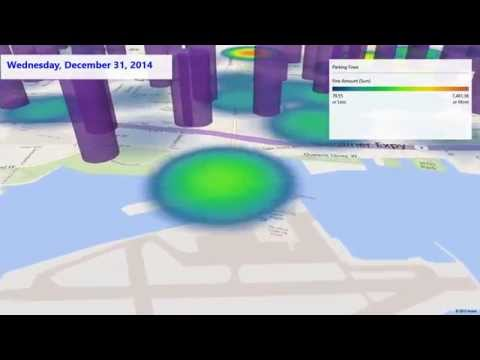 Microsoft Canada BDH PowerMap Tour Parking Tickets and Air Flights