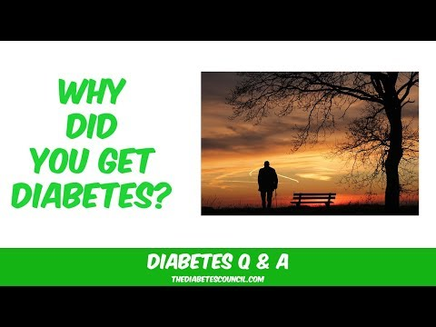 Why Did You Get Diabetes?