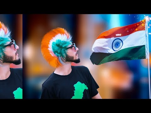 15 August Hair style _ 2018 Special Photo Editing Tutorial || In Picsart