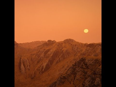 We could spot mountains and valleys on alien worlds