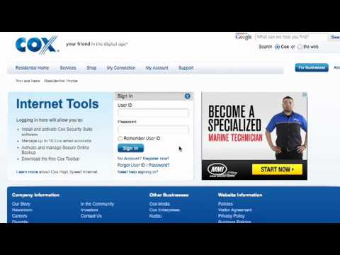 How to Reset Your Password on Your Cox.net Account | Cox High Speed Internet