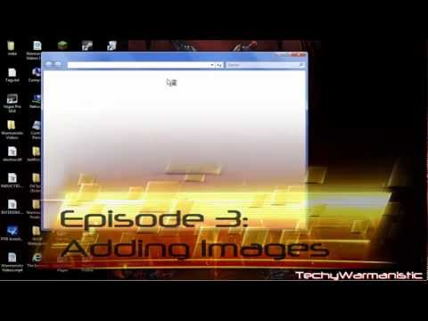 How to make a Website using HTML code Episode 3: Adding Images [HD]