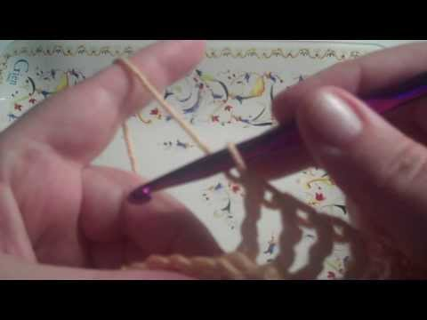 How to Crochet a Back Post Triple Stitch