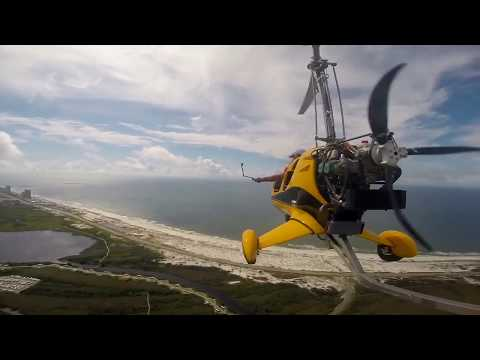 Gyroplane Beach Flight Aviation Gulf Shores Alabama