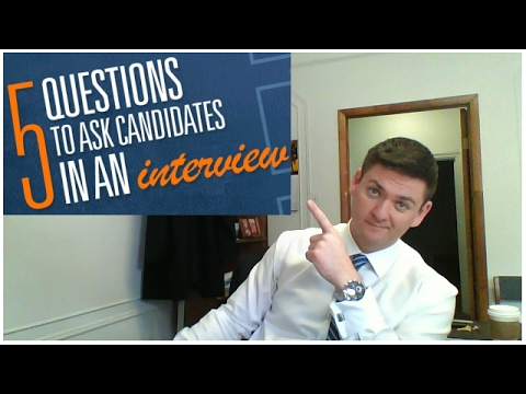 5 interview questions to ask candidates