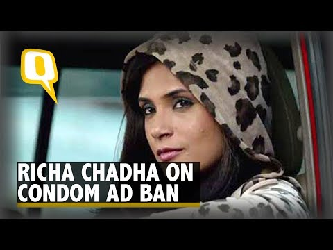 Bholi Punjaban, Richa Chadha Reacts to Condom Ad Ban | The Quint