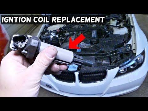 HOW TO REPLACE IGNITION COIL ON BMW E90 E91 E92 E93