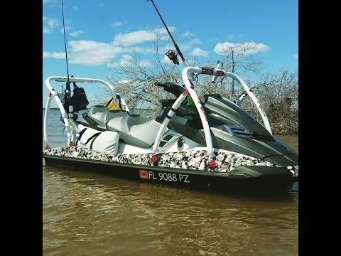 Jet Ski Fishing Setup Update from Xtreme Fishing Products