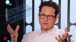 Star Wars 9 J.J. Abrams talks! (2019) The Rise of Skywalker