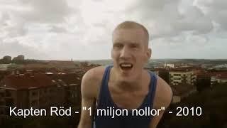 Evolution of Svensk hiphop/rap 90-talet till 2019 [Sweden]