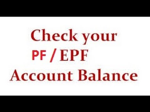 How to check you PF balance using UAN