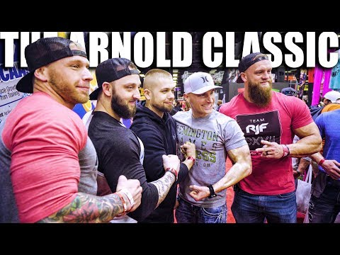 THE ARNOLD CLASSIC 2018 | Remington James