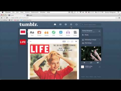How to Upload a JavaScript File to Tumblr : Tumblr & Other Social Media