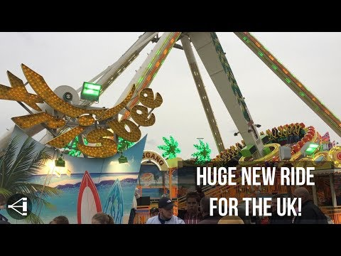 FRISBEE RIDE - New to Fantasy Island in 2018.