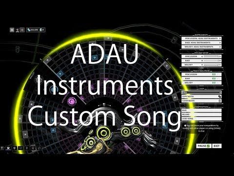 Warframe Mandachord: ADAU Instruments - Custom Song